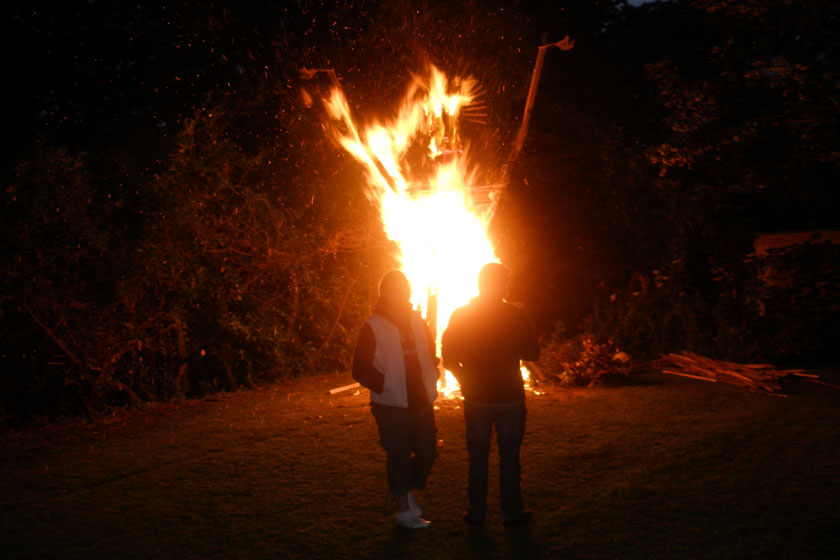 Effigy burning