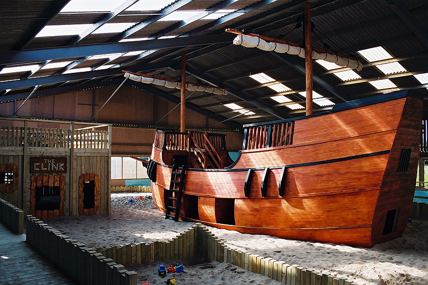 Indoor Pirate Ship Playground