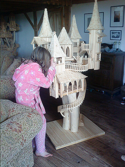 Playing with the Bough House